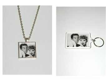 I love Lucy Lucille Ball  Pendant Necklace and/ or Keychain