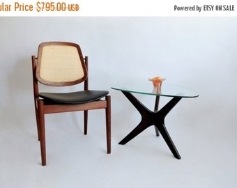 Half Price SALE Arne Vodder F-205 Chair. Danish Modern Chair Imported by John Stuart. 1950's.