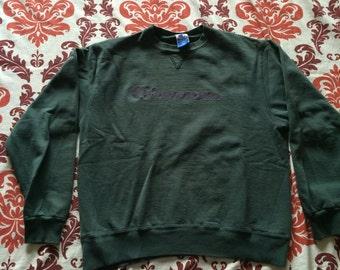 Vintage Champion Brand Logo Sweatshirt