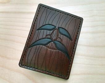 The Legend of Zelda Deku Tree Leather Card Wallet