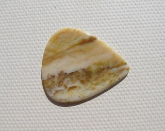 Polka Dot Agate - Stone Banjo or Mandolin Pick