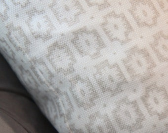 Neutral Greige Beige Taupe and White Geometric Aztec Pillow Cover - Neutral Home Decor