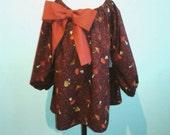 OOAK Girl's dress Size 12-18m Toddler toadstool dress