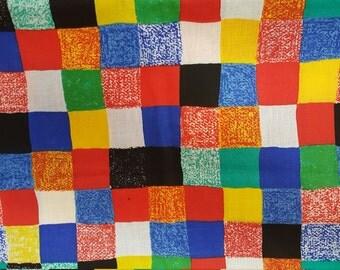 Primary Checks by Princess Fabrics Inc