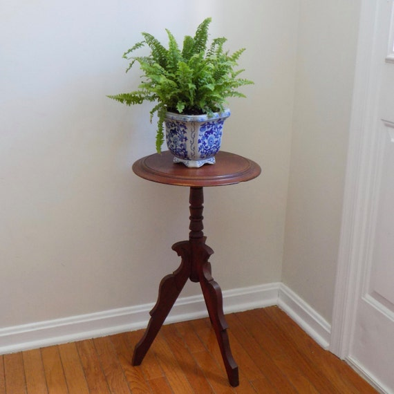 Foyer Plant Stand : Beautiful antique eastlake plant fern candle stand entryway