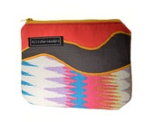 Zippered Upcycled Cosmetics Pouch