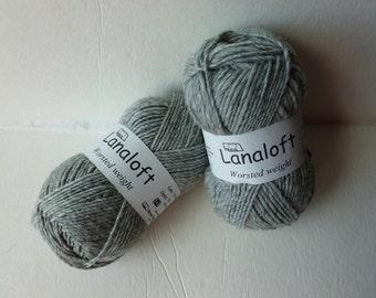 Yarn Sale  - Manor Grey Lanaloft by Brown Sheep Company
