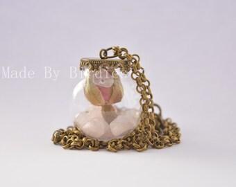 Rosebud Necklace