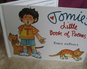 1988 Tomies Little Book poems  book tomie DePaola book Good to very good RARE delightful
