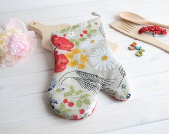 Oven mitt, Oven glove, Pot holder, pot holder and oven mitt, Cooking pot, pot holder handmade, kitche, kitchen dekor, pot, Pot holder, glove