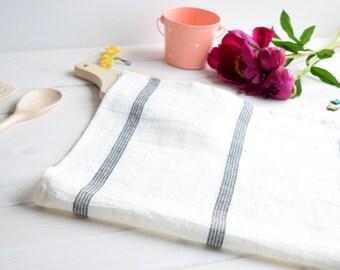 White linen tea towel, Kitchen towels, Stripe tea towel,  Dish towels, Bath sheet, Sauna linen towel, Bath linen towels, Hand towel, towels