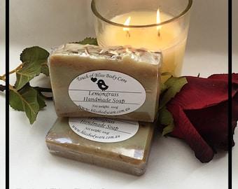 Lemongrass and coconut milk Handmade Soap