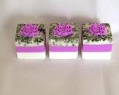 3 Lavender Block Soaps