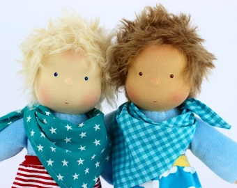 custom doll, custom-made production , specially made for you, 13 inch, soft doll, waldorf doll, for boys