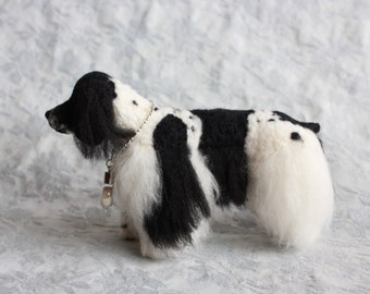 Long/Smooth Coated Custom Pet Sculpture in Felt: Pointers, Shelties, Collies, Retreivers, etc