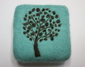 Tree of Life Felted Soap - a Made-to-Order Item