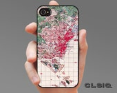 Topographic Singapore Map Case for iPhone 6/6S, 6+/6+S, 5/5S, 5C, 4/4S, iPod Gen 5, Samsung Galaxy S6, Galaxy S5, Galaxy S4, Galaxy S3