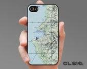 Puerto Vallarta Mexico Topo Map Case for iPhone 6/6S, 6+/6S+, 5/5S, 5C, 4/4S, iPod Gen 5, Samsung Galaxy S6, Galaxy S5, Galaxy S4, Galaxy S3