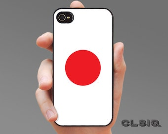 Japanese Flag Case for iPhone 6/6S, 6+/6S+, 5/5S, 5C, 4/4S, iPod Gen 5, Samsung Galaxy S6, Galaxy S5, Galaxy S4, Galaxy S3