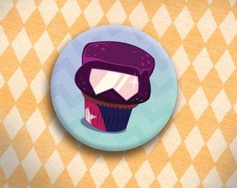 Crystal Cupcakes - Garnet Button