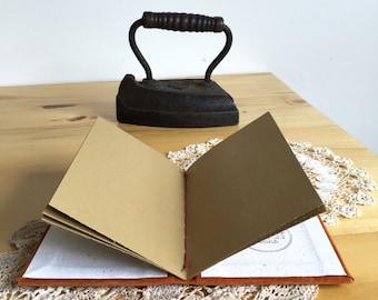 Rust Suede Vow Book