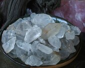 Set of 12 Clear Quartz Mini Points - Crystal Healing Energy, Magnifies Intention,Manifestation, Dreamwork, Spiritual Cleansing, Crown Chakra