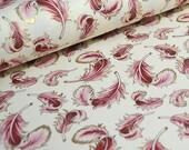 Rossi Italian Fine Decorative Paper - Pink Feathers