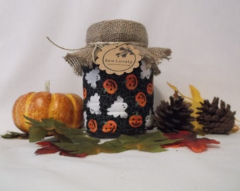 Halloween Koozies Pumpkins and Ghosts