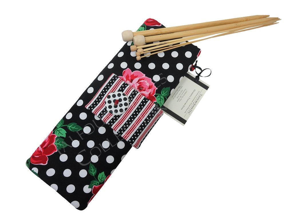 Knitting Organizer Michaels : Straight knitting needle case holder