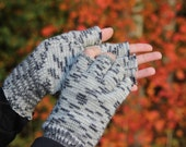 Hand Knitted Gloves, Gray Elegant Arm Warmers Gloves, For Her, Gift Ideas, Winter Accessories, Fall Fashion Trends