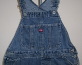 Free shipping! Union Bay womens small denim overalls with small flaw