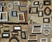 Picture Frames - Made To Order Frames -  Ornate Frame Set - Shabby Chic  Decor