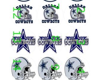 """1"""" Bottle Cap Images-Dallas Cowboys"""