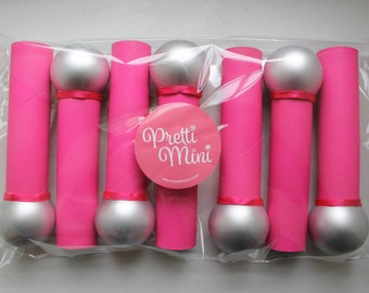 Microphone Craft Kit, Kids DIY, Hot Pink Bling Your Microphone Set of 7