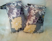 Padded Flower Bags/ Lavender Pillow Pouches/ Pipe Bags