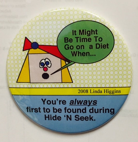 "It Might Be Time To Go On A Diet When... 3.5"" Magnet - Buy 3, Get 4th FREE"