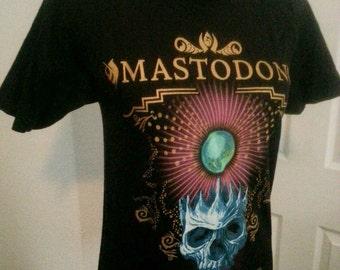 Mastadon shirt heavy metal band shirt unisex size Small