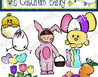 Easter Colored Clip Art