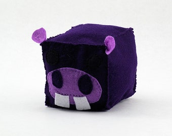 Hippo Plush Animal Block