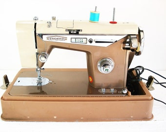 Vintage Emdeko Sewing Machine