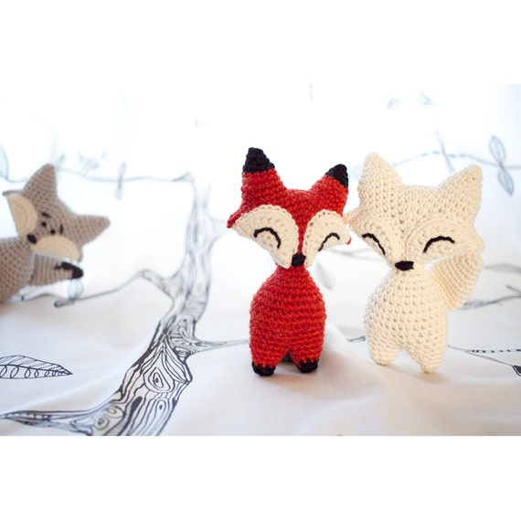 Little Fox or Wolf amigurumi crochet PDF pattern by ...