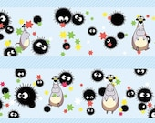 1 Roll of Limited Edition Washi Tape: Totoro with Susuwatari