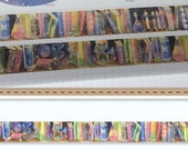 1 Roll of Limited Edition Washi Tape: Book Shelf