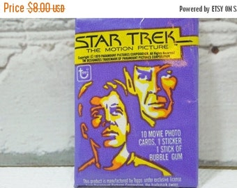 On Sale Price Vintage Trading Cards.  Star Trek The Motion Picture. 1979. Kirk. Spock. Bones. Sulu. Scotty. Uhura. Great Sci-Fi TV Shows.