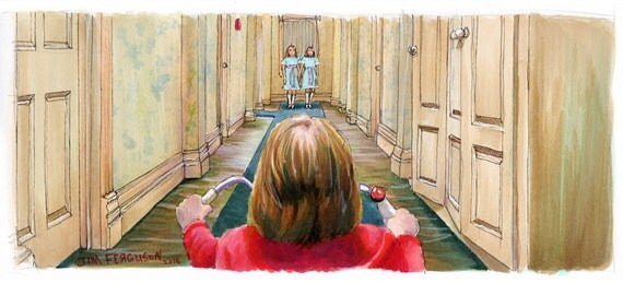 The Shining - Come Play With Us Print