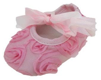Light Pink Crib Shoes