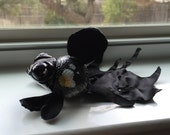 OOAK Art Doll - Black Goldfish