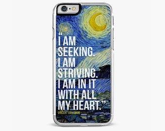 Pablo Picasso Quote iPhone 6 / 6S Case, The Starry Night iPhone 6 / 6S Plus Case
