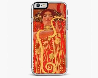 iPhone 7 Case, iPhone 7 Plus Case, Klimt Medizin Painting iPhone case, Artist iPhone 7 case, iPhone 6s case, iPhone 6 plus cover