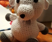 Crochet Goat Stuffed Animal
